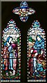 SO8240 : Ruth and Naomi Window, Hook Church by Bob Embleton