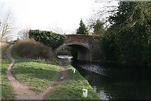 SU7451 : Colt Hill Bridge, Odiham, Basingstoke Canal by Dr Neil Clifton