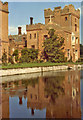 TF7401 : Oxburgh Hall with Moat, Oxborough, Norfolk by Christine Matthews