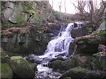SE0343 : Waterfall on Steeton Beck by John Illingworth