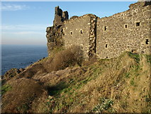 NS2515 : Dunure Castle by wfmillar