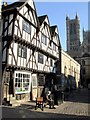 SK9771 : The Leigh-Pemberton House, Lincoln by Dave Hitchborne