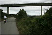 SW9873 : A39 bridge over the Camel by Katy Walters
