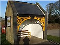 TG0433 : Melton Constable Bus Shelter by Paul Shreeve