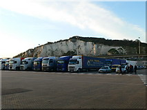 TR3341 : Eastern Docks, Dover by Eirian Evans