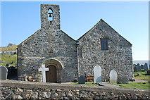 SH1726 : Eglwys Hywyn Sant wedi'i hatgyweirio - St Hywyn's Church after refurbishment by Alan Fryer
