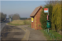 SP4476 : Bus Shelter, Church Lawford by Stephen McKay