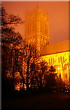 SK9771 : Lincoln Cathedral at dusk by Fractal Angel