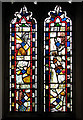 TF8800 : All Saints Church - stained glass window by Evelyn Simak