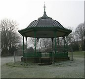 SE0824 : Bandstand - People's Park by Betty Longbottom