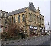 SE0724 : Kingston Liberal Club - Queens Road, Halifax by Betty Longbottom