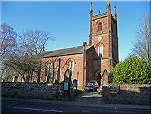 NS4927 : Mauchline Parish Church by Jonathan Billinger