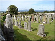 NX4355 : Wigtown Cemetery by Chris Newman