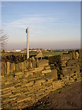 SE1220 : Stile on Rastrick Footpath 109, Pinfold Lane. by Humphrey Bolton