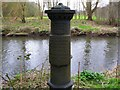 J3269 : Old boundary post near Newforge Lane, Belfast by Rossographer