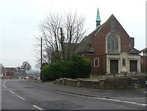 SZ0995 : Moordown: former Congregational Church by Chris Downer