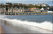 NJ2370 : Lossiemouth from the East Beach by Anne Burgess