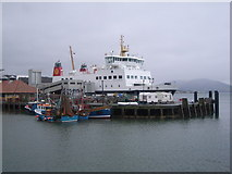 NS0964 : CalMac Ferry at Rothesay Harbour by Nick Mutton