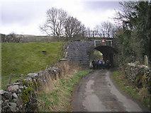 SD6279 : Railway bridge near Casterton by John Illingworth