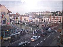 SY6778 : Weymouth Harbour Bridge by Raymond Knapman