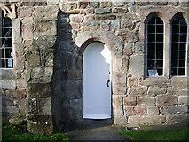 SD4161 : Parish Church of St Peters, Heysham, Doorway by Alexander P Kapp