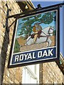 ST4105 : Pub sign at Royal Oak by John M