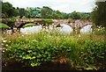 SJ2519 : Vyrnwy road bridge by Graham Horn
