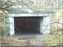 NZ2775 : The Elley Dee Underpass by Kevin Richardson
