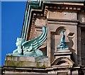 J3374 : Sphinx, Scottish Provident, Belfast by Albert Bridge