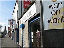 J5081 : Shopfronts, Abbey Street, Bangor [2] by Rossographer