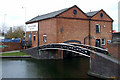 SO9198 : Broad Street Canal Depot, Wolverhampton by Roger  Kidd