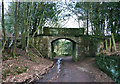 SJ5356 : Bridge over Hill Lane, Peckforton Hills by Espresso Addict