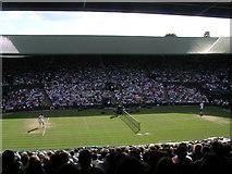 TQ2472 : Wimbledon Centre Court by Rod Allday