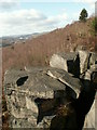 SK3097 : Wharncliffe Crags by John Fielding