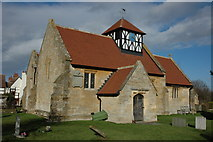 SO9832 : Alstone Church by Philip Halling