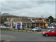 TQ7369 : McDonald's, Commercial Road, Strood by Danny P Robinson