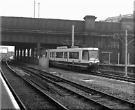 SJ8499 : Leaving Manchester Victoria by Dr Neil Clifton