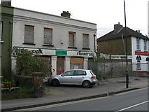 TQ7369 : Boarded Up Shop, Cuxton Road, Strood by Danny P Robinson