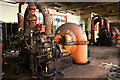 NZ3946 : Gas exhausters, Hawthorn Coking Works, Murton by Chris Allen