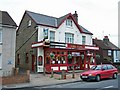 TQ7471 : The Stag public house, Wainscott by Richard Dorrell