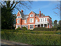 ST3087 : Mansion House, Stow Park Circle, Newport by Robin Drayton