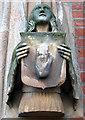 J3372 : Figure, Lanyon Building, Queen's University, Belfast by Rossographer