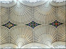ST7564 : Bath Abbey, ceiling by Brian Robert Marshall