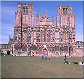 ST5545 : Wells Cathedral by Trevor Rickard