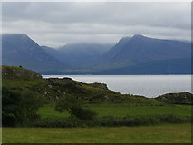 NS0853 : View to Arran from Dunagoil by Wendy Kirkwood