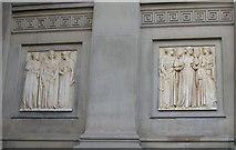 SJ3490 : St George's Hall - detail by Keith Edkins