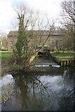 TL4352 : Reflections at Hauxton Mill by Bob Jones