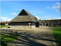 SU1070 : Avebury - Tithe Barn by Chris Talbot
