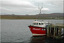 NC0009 : Hectoria at Badentarbat Pier by Peter Gamble