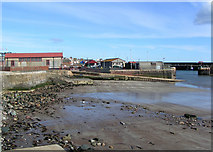 NO6440 : Arbroath Lifeboat Shed and Slipway by Karen Vernon